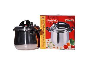 MBR Industries BC-33870 Stainless-Steel 9.5 Qt. Pressure Cooker