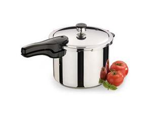 National Presto Industries 01362 6 Quart Stainless Steel Pressure Cooker