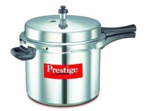 Prestige PPAPC10 Popular Aluminium Pressure Cooker - 10 Litres