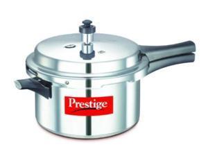 Prestige PPAPC4 Popular Aluminium Pressure Cooker - 4 Litres