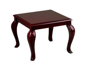 Office Star TBB2020 Queen Ann Tradition End Table -Mahogany