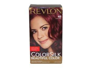 Revlon U-HC-1948 ColorSilk Beautiful Color No.48 Burgundy - 1 Application - Hair Color