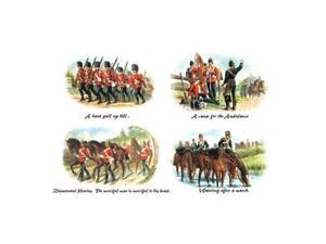 A Hard Pull up Hill Cause for the Ambulance Dismounted Heavies and Watering after a March 24x36 Giclee