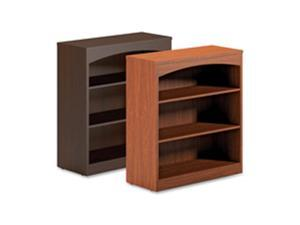 Mayline Group MLNBTB3S36LCR 3-Shelf Bookcase- 36in.x15in.x39-.50in.- Cherry