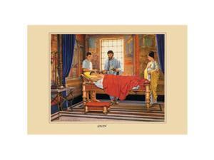 "Buyenlarge 15183-8CG12 Galen 12"" x 18"" Giclee Print On Canvas"