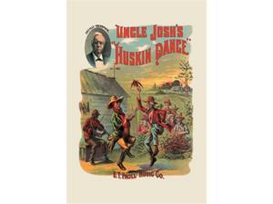 Uncle Josh's Huskin Dance 24x36 Giclee
