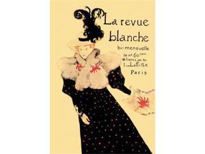 La Revue Blanche 12x18 Giclee On Canvas