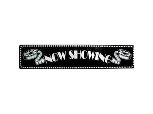 ST - 013 Now Showing Home Theater Theatre Sign - ST104
