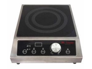 SUNPENTOWN SR-652C 2700W Countertop Commercial Induction Range