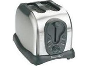 CEM Global PS77401 2 Slice Toaster Stainless Steel