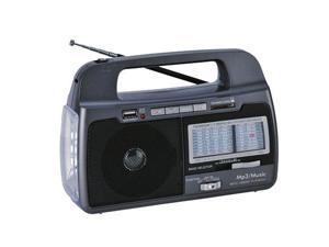 Supersonic SC-1082 9 Band AM-FM-SW1-7 Portable Radio