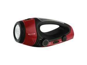 Weather X Wf382R Weatherband Radio With Flashlight Am-Fm