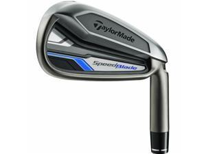 TaylorMade SpeedBlade Iron Set - Steel Shafts - Right Hand 4-PW and AW Regular Flex
