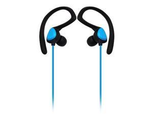 Sound Around-Pyle PWP20B Waterproof Aqua Sport Headphones, Black - Blue