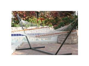 Smart Solar 50404-NTP Cancun Premium Double Rope Hammock - Natural