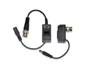 Night Owl 1-Pair Passive Video Balun Converters with power for Security CCTV systems