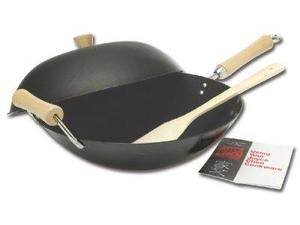 Columbian Home Products 21-9971 14 in. Nonstick Wok Set - 4 Pieces