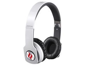 NoonTec ZORO-HD-WHT True Sound Headphones with Inline Mic and Answer-End Button - White - White
