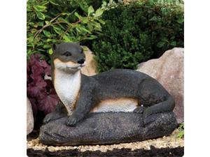 Kelkay 4461 Laying Otter Statue