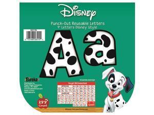 Eureka EU-845196 101 Dalmatians Spots Deco Letters