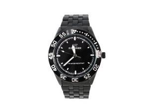 Fortuner WAT1151MBK Fortuner Connoisseur Men Watch in Black Stainless Steel Bracelet