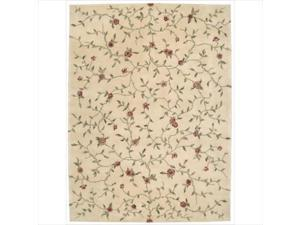 Nourison 76157 Julian Area Rug Collection Light Gold 5 ft 3 in. x 8 ft 3 in. Rectangle