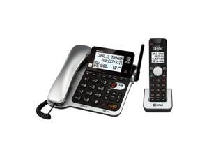 AtandT CL84102 Corded-Cordless Phone System With Answering System, Caller Id and Call Waiting