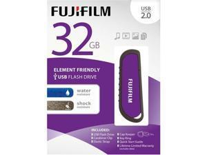 Fujifilm 32GB USB 2.0 WR Flash Drive with Cap - 600012320
