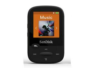 "SANDISK SDMX24-004G-A46K 4GB 1.44"" Clip Sport MP3 Player (Black)"