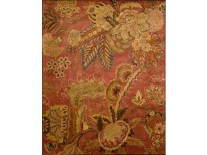 Nourison 11303 Jaipur Area Rug Collection Flame 8 ft 3 in. x 11 ft 6 in. Rectangle