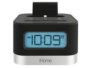 iHome iPL8BN Speaker System with Lightning Dock and Alarm