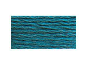 DMC Six Strand Embroidery Cotton 8.7 Yards-Very Dark Turquoise