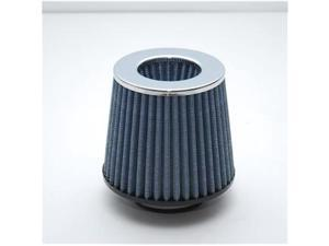 VIBRANT 2160C Open Funnel Air Filter Cold Air Intake, 3 In. - Blue