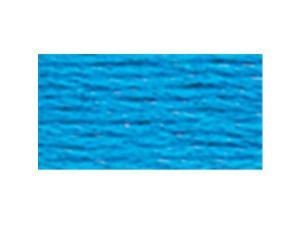 DMC Six Strand Embroidery Cotton 8.7 Yards-Electric Blue
