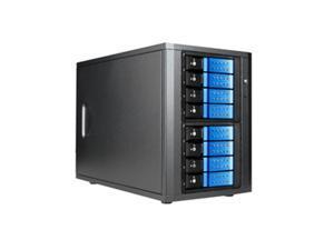 "RAIDAGE DAGE840DEBL-2MS 8 3.5"" Drive Bays SAS/SATA 6.0 Gb/s miniSAS Trayless Hotswap Enclosures"