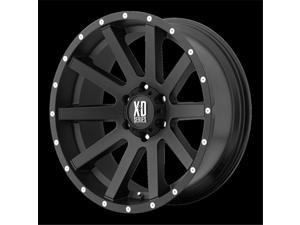 Wheel Pros 1829058730 Xd818- Heist Satin Black With Milled Flang, 20 x 9 In.