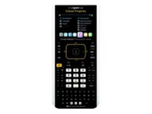 Texas Instruments Nspire Cx Color Handheld Graphing Calculator Teacher Pack, Rechargeable Battery, Pack - 10