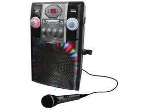 Gpx JB185B Wireless Karaoke Machine, Black