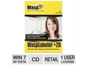 WASP TECHNOLOGIES 633808105266 WASPLABELER PLUS 2D -1 USER LICENSE