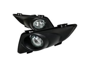 Spec-D Tuning LF-MZ603COEM-DL Clear Fog Lights with Wiring Kit for 03 to 04 Mazda 6, 5 x 11 x 10 in.