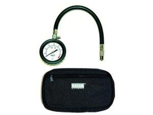 "VIAIR 90059 2.5"" Tire Gauge with Hose (0 to 15 PSI - Storage Pouch)"