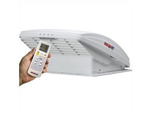 MAXXAIR VENT 0007000K Roof Vent Remote Control Powered Opening White