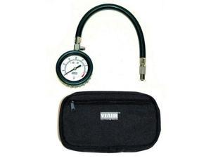 VIAIR 90073 Viair 2.5 inch Tire Gauge with Hose 0 to 100 PSI - Storage Pouch