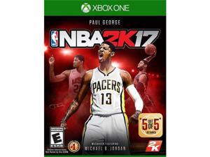Take-Two Interactive Software 49772 NBA 2K17 for XBox One, Video Game