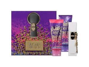 Justin Bieber 288467 Justin Bieber The Key 1.7 oz Eau De Parfum Spray, 3.4 oz Body Lotion & 3.4 oz Body Wash