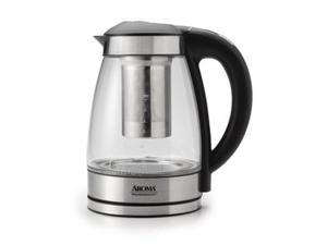 Aroma AWK-165DI 7 Cup Professional 1.7 litre Digital Electric Kettle with Tea Infuser