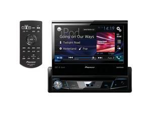 Pioneer AVH-X7800BT 7 in. Single DIN Dash DVD Receiver with Flip - out Display, Bluetooth Siri Eyes Spotify & AppRadio One