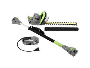 Earthwise CVPH43018 2-in-1 Convertible Pole Hedge Trimmer