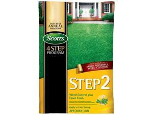 Scott 34161 15000 sq. ft. Step 2 Weed & Feed Spring Cool Season Grass Types