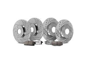 Front & Rear Street Warrior Brake Kit - Dodge, 2011